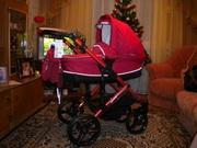 Универсальная коляска Bebetto Solaris Red Collection