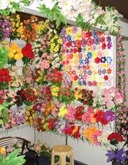Искусственные цветы оптом от производителя из Китая.