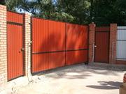 Ворота для дачи в Лиде